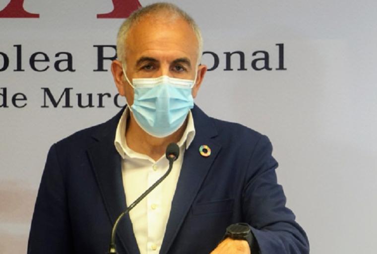 """Martínez Baños: """"La incapacidad de Gobierno regional y del consejero de Fomento en la gestión de las ayudas ha imposibilitado que la CARM reciba más fondos de la UE para la DANA"""""""