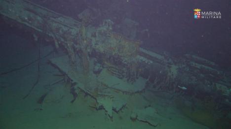 Encuentran cerca de la isla de Estrómboli un barco italiano que fue hundido en la Segunda Guerra Mundial por un submarino británico