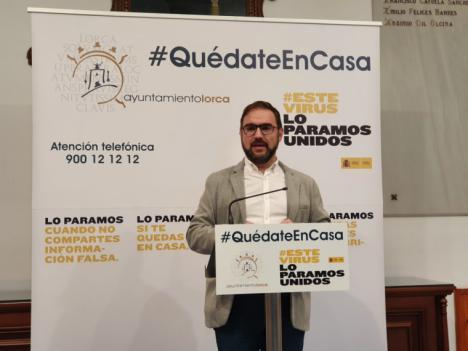 El Ayuntamiento de Lorca pone en marcha una 'Cuenta Solidaria' para canalizar todas las ayudas y recoger la colaboración y participación ciudadana demostrada en esta crisis sanitaria