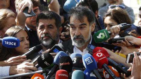 Puigdemont proclamará la independencia este martes.