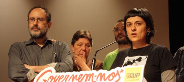 La CUP pide a los catalanes, desobediencia al Estado
