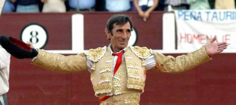 El torero Dámaso González ha muerto.