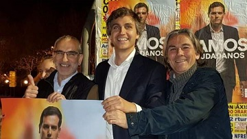 """Dimite el portavoz de Cs en Pozuelo de Alarcón: 'Ciudadanos es un timo"""". Rivera colocó como candidato a las municipales a Damián Macías, pareja de una prima de Malú."""