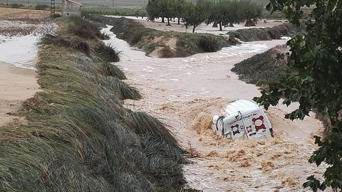 Aparece un hombre ahogado en Orihuela, es la sexta víctima por la gota fría
