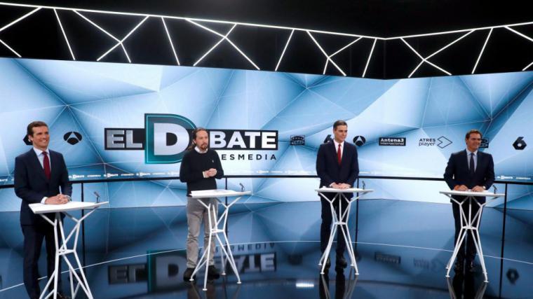 Un Albert Rivera, desquiciado y pasado de vueltas, el gran perdedor del debate
