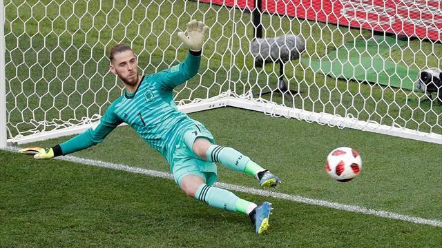 De Gea se ha bastado solo para que España quede eliminada del mundial.