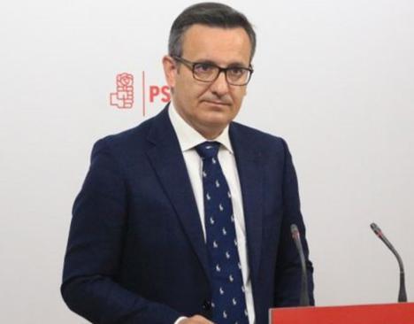 """Diego Conesa: """"Solo una parte del incremento de la deuda de la Comunidad Autónoma se debe a la financiación autonómica"""""""
