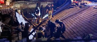 Más de 300 heridos, 9 de ellos graves al derrumbarse parte del paseo marítimo vigués durante O Marisquiño