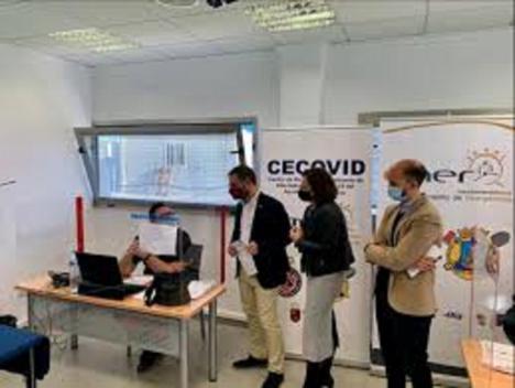 El CECOVID contribuye a descongestionar los centros de salud de Lorca gracias a la gestión de 1.500 casos positivos y el rastreo de 6.000 contactos estrechos desde su puesta en marcha