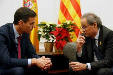 Sánchez y Torra se citan para después de la formación del gobierno