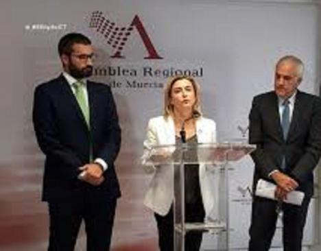 """Carmina Fernández: """"Vox utiliza los asuntos prioritarios para la Región de Murcia como plataforma publicitaria partidista"""""""