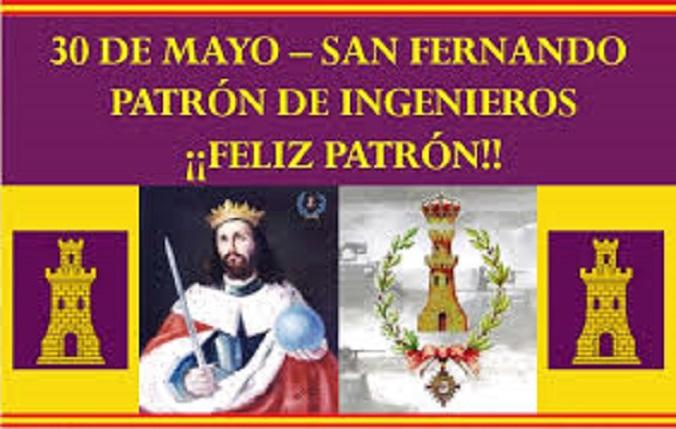 SAN FERNANDO. PATRÓN DE INGENIEROS