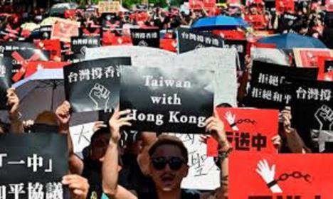 Taiwán insta a la comunidad internacional a oponerse a la Ley de Seguridad Nacional de Hong Kong y proteger la democracia