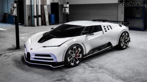Llega el Bugatti Centodieci
