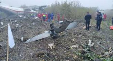 Un avión de carga procedente de Vigo se estrella tras un aterrizaje forzoso en Ucrania provocando cinco muertes