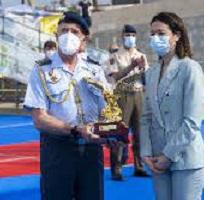 Ana López Moreno y Vilal Ahmed Ahmed se proclaman en Águilas Campeones de España de Triatlón Militar