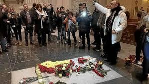 El genocida Franco a pocas horas de ser exhumado después de pronunciarse el Supremo