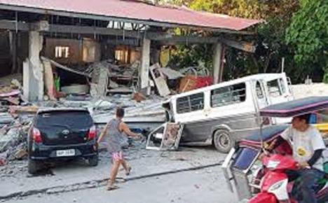 Un terremoto de magnitud 6,6 sacude Filipinas