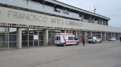 El Ayuntamiento de Lorca habilitará las instalaciones del estadio de fútbol 'Francisco Artés Carrasco' como zona de descanso para transportistas y camioneros