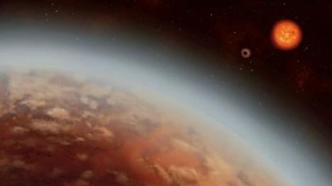 Los astrónomos encuentran agua por primera vez en un planeta situado a 110 años luz