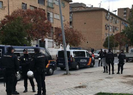Espectacular operación de la policía contra el cultivo de marihuana en Granada