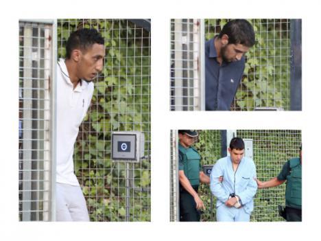 Los terroristas detenidos declaran ante el juez Fernando Andreu.