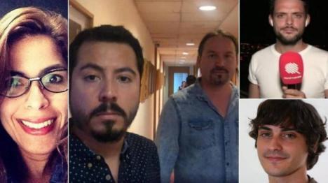 Liberados los dos reporteros y el fotógrafo de la agencia Efe detenidos en Venezuela