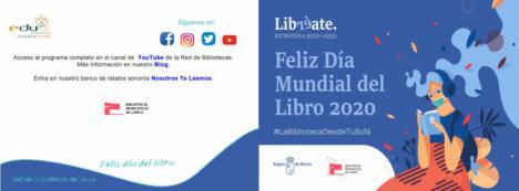 El Ayuntamiento de Lorca celebra el Día del Libro con diversas actividades en torno a las efemérides literarias que se celebran este año