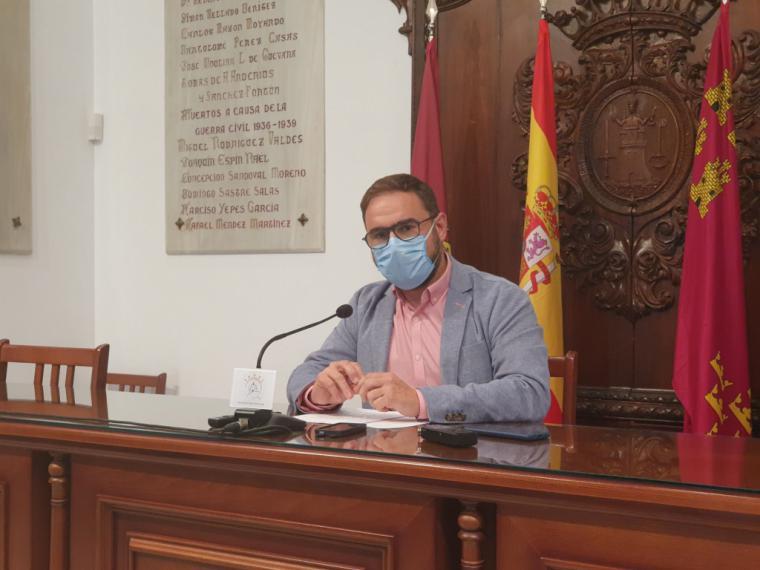 El Alcalde de Lorca valora positivamente la decisión de no confinamiento debido al control del brote de Covid-19 detectado en el municipio