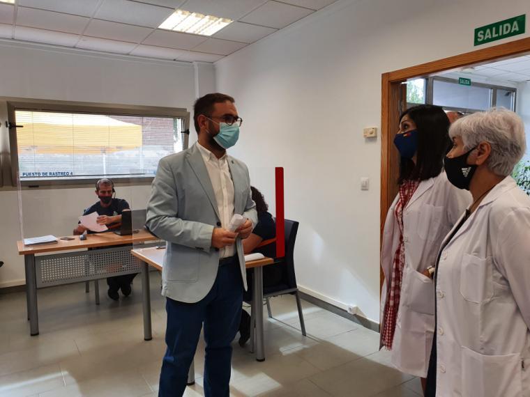 El Ayuntamiento de Lorca pone en marcha el Centro de Rastreo y Seguimiento de Afectados de la Covid-19 con 30 profesionales y voluntarios del Servicio de Emergencias Municipal y la Agrupación de Voluntarios de Protección Civil