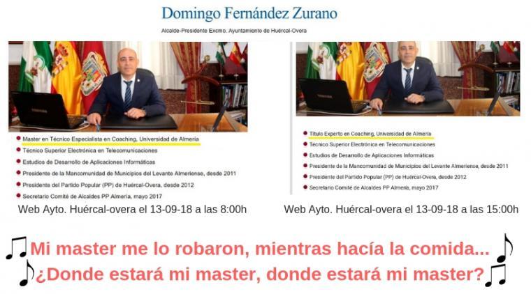 De Albert Rivera presidente de Ciudadanos a Domingo Fernández Zurano, alcalde de Huercal Overa, hasta el más tonto, quiere ser más