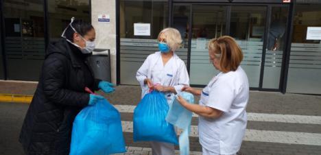 El Ayuntamiento de Lorca pone en marcha una iniciativa solidaria para la realización de material sanitario a través de colectivos, asociaciones de mujeres, particulares y empresas