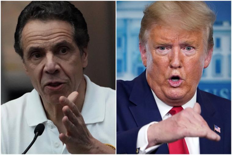 Estados Unidos supera los 41.000 muertos a fecha de ayer domingo, en gran medida, por la mala gestión de Trump