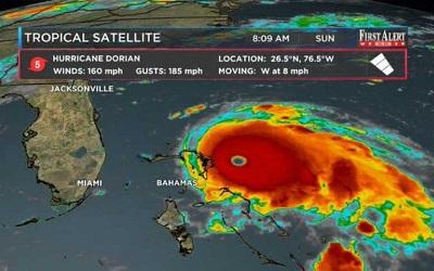 'Dorian' arrasa a su paso por Bahamas