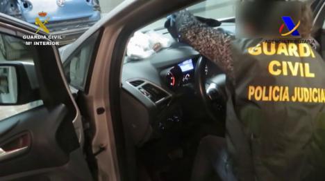 Operación antidroga en Nerja con nueve detenidos y 1.200 kilos de hachís incautados