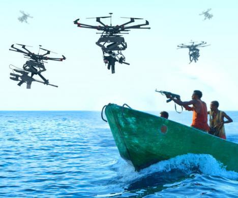 Drones francotiradores