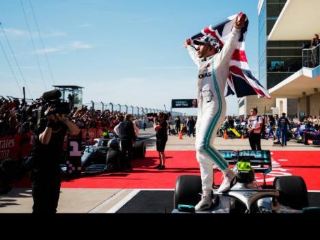 Lewis Hamilton se proclama por sexta vezcampeón del mundo de Fórmula 1, al finalizar el Gran Premio de EEUU