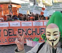Enchufismo en la Junta de Andalucía.