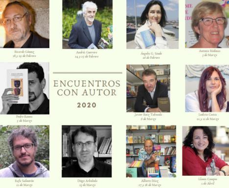 Antonia Ródenas, Pedro Ramos y Javier Ruiz participan esta semana en el programa de 'Encuentros con autor' organizado por la Red Municipal de Bibliotecas