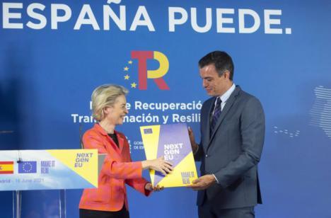 El plan de recuperación de España obtiene la máxima nota de Bruselas en diez de los once criterios