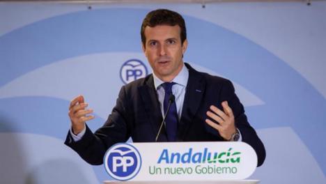 Según Pablo Casado los andaluces son de peor condición