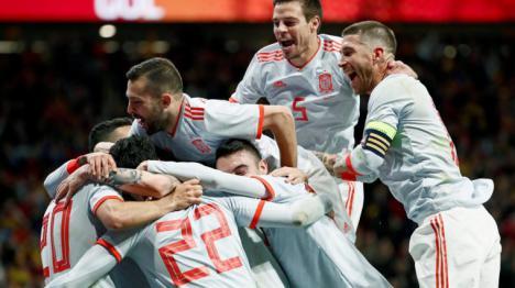 España humilla a la selección Argentina