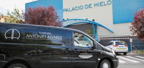 La gran morgue, el Palacio de Hielo de Madrid
