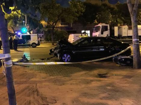 Detenido un conductor tras matar a un motorista en Badalona y darse a la fuga