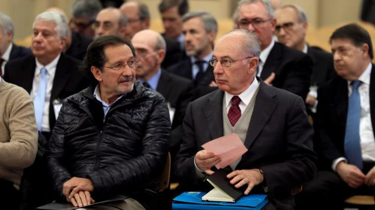Rodrigo Rato señala ahora a Francisco Gonzalez expresidente del BBVA como el impulsor de su salida de Bankia