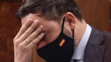 Santiago Abascal en el banquillo acusado de la disolución ilegal del Comité Ejecutivo Provincial de Vox en Barcelona
