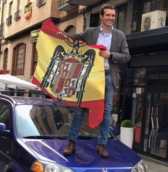 Pablo Casado resucita el fascismo