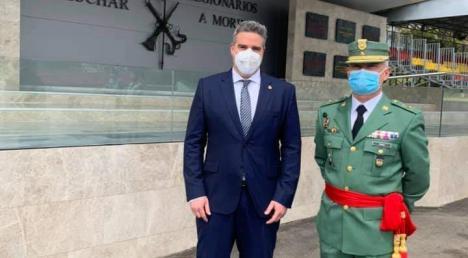 """El General lorquino Melchor Marín Elvira asume el mando de la Brigada Legionaria """"Rey Alfonso XIII"""" con base en la localidad almeriense de Viator"""