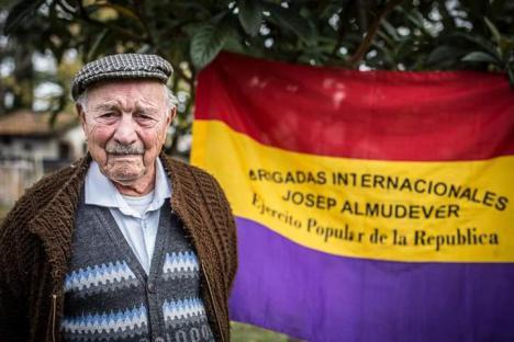 Ha muerto a la edad de 101 años Josep Almudéver, el último brigadista