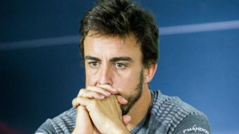 Nuevo fiasco de Fernando Alonso en Daytona. Su coche se accidenta en la primera sesión de entrenamientos libres
